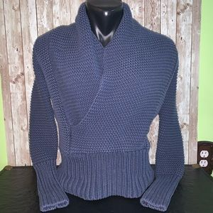 AE Blue Knit Sweater